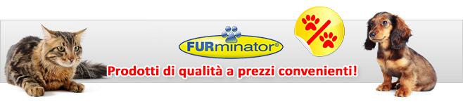 Accessori per la cura del pelo di cani e gatti di marca FURminator