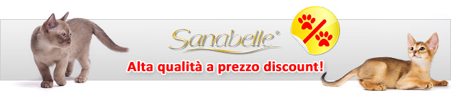 Cibo secco per gatti Sanabelle