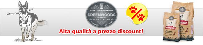 Crocchette per cani Greenwoods