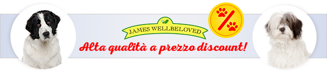 Crocchette per cani James Wellbeloved