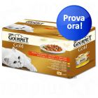 Set misti e assortiti di cibo umido per gatti Gourmet